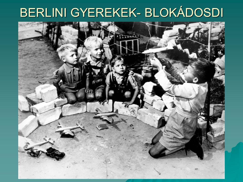 BERLINI GYEREKEK- BLOKÁDOSDI