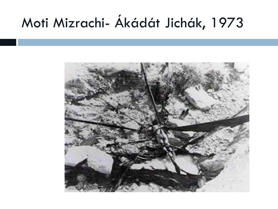 Moti Mizrachi- Ákádát Jichák, 1973