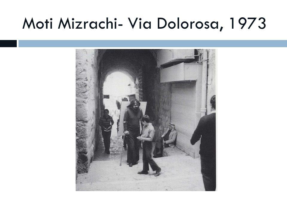 Moti Mizrachi- Via Dolorosa, 1973