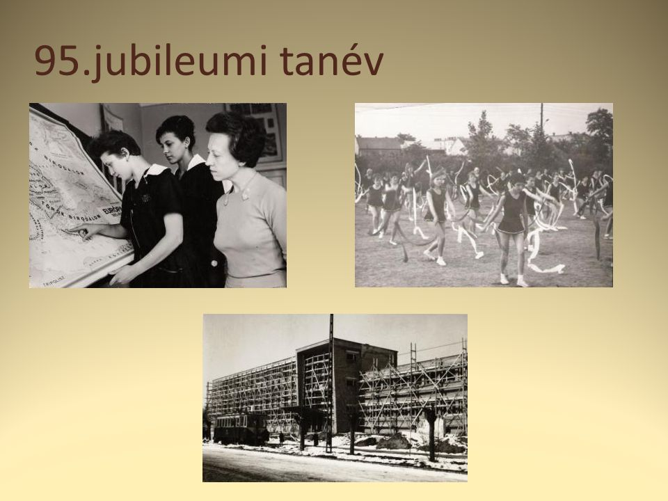 95.jubileumi tanév