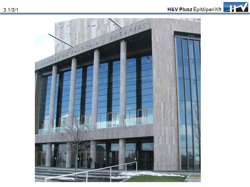 H&V Plusz Építőipari Kft 3.1/3/1