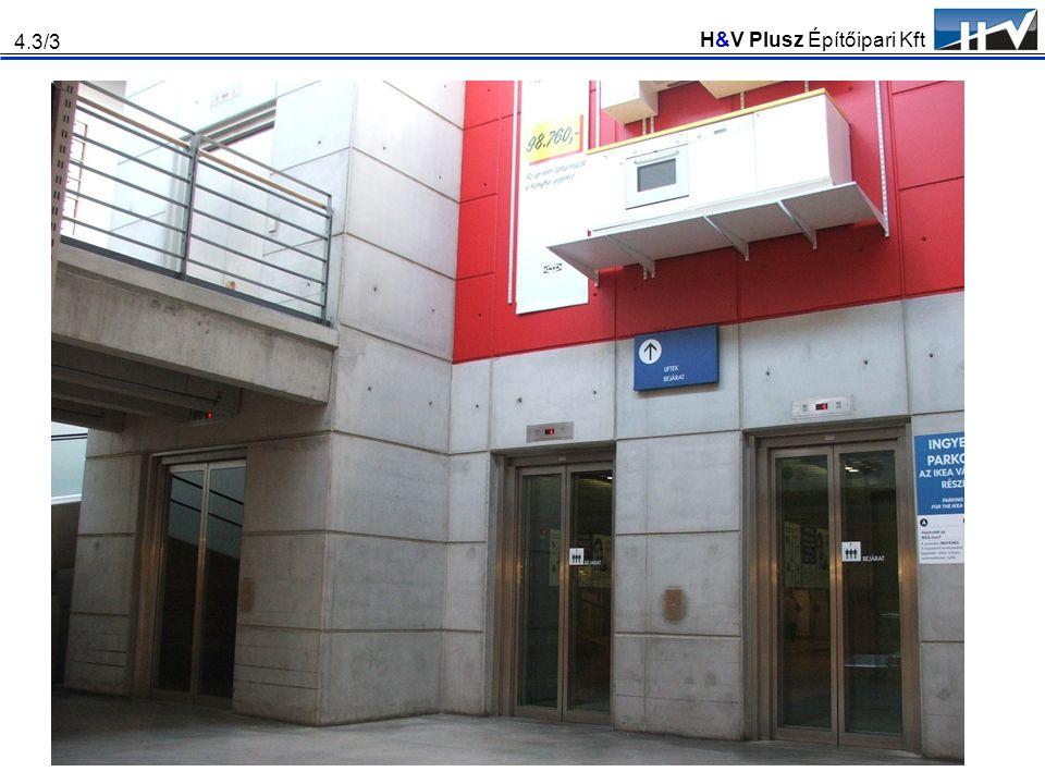 H&V Plusz Építőipari Kft 4.3/3