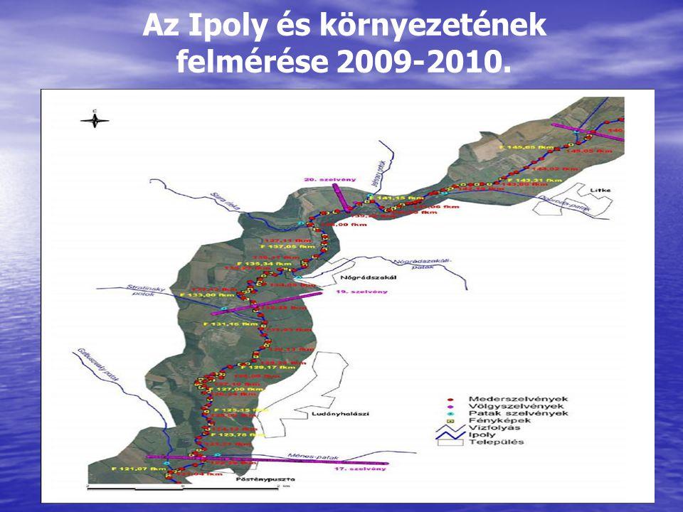 Az Ipoly és környezetének felmérése 2009-2010.
