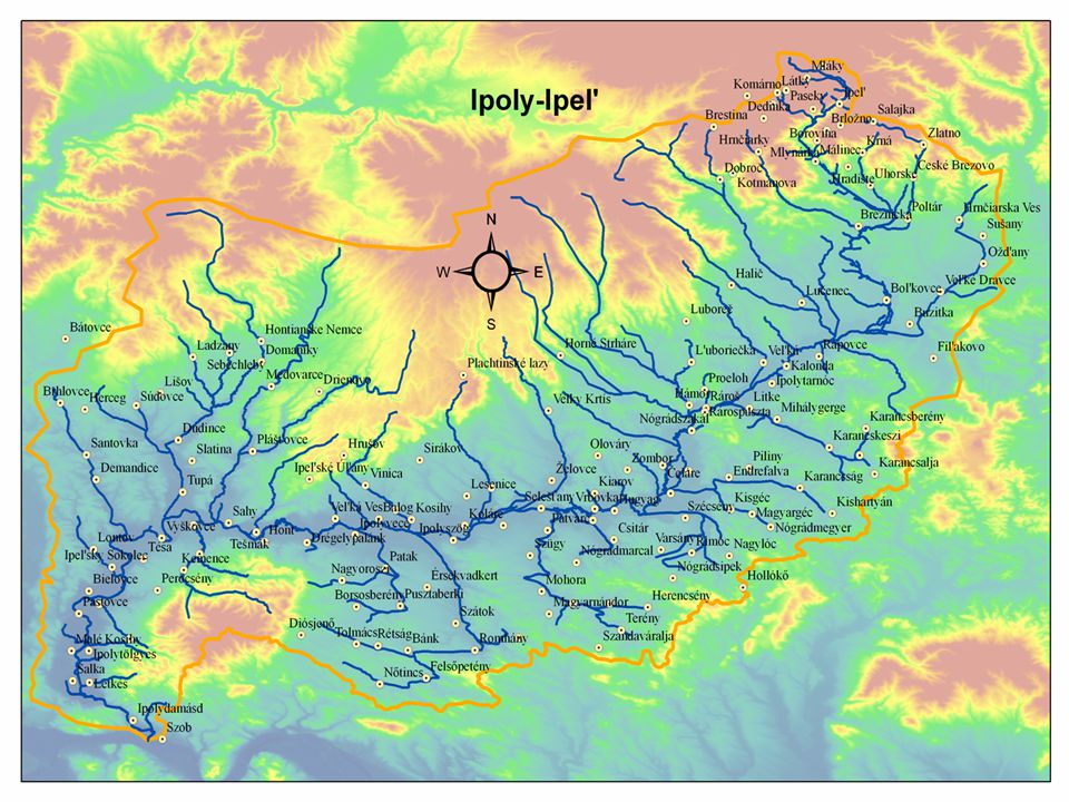 Általános adatok • Eredeti hosszúsága 257 km, a jelenlegi 215km • Vízgyűjtő területe 5108 km² • Ebből hazánk területére esik 1430 km² • Szeszélyes vízjárás, a kis-és nagyvízhozam közötti arány 1:457