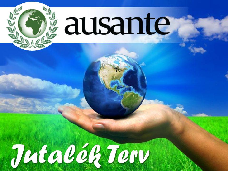 Lojalitás bónusz befektetőknek Az Ausante a minősülési minimum fel etti, minden egyes Unit után 0,5 – 1,65 USA dollárcentet oszt szét a tagok között Lojalitás bónuszként havonta.
