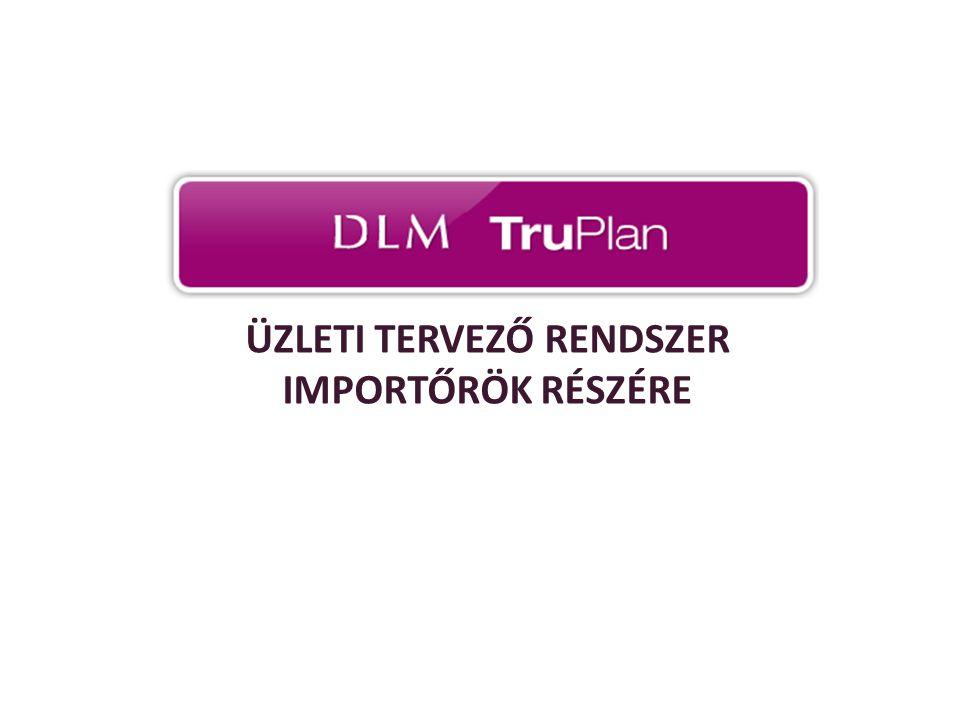 TruPlan használat előnyei Összehasonlíthatóság Havi tervadatok összehasonlítása havi bázisadatokkal Havi tervadatok összehasonlítása havi tényadatokkal