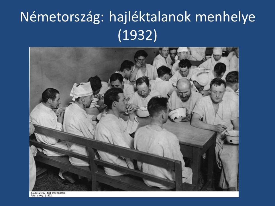 Németország: hajléktalanok menhelye (1932)