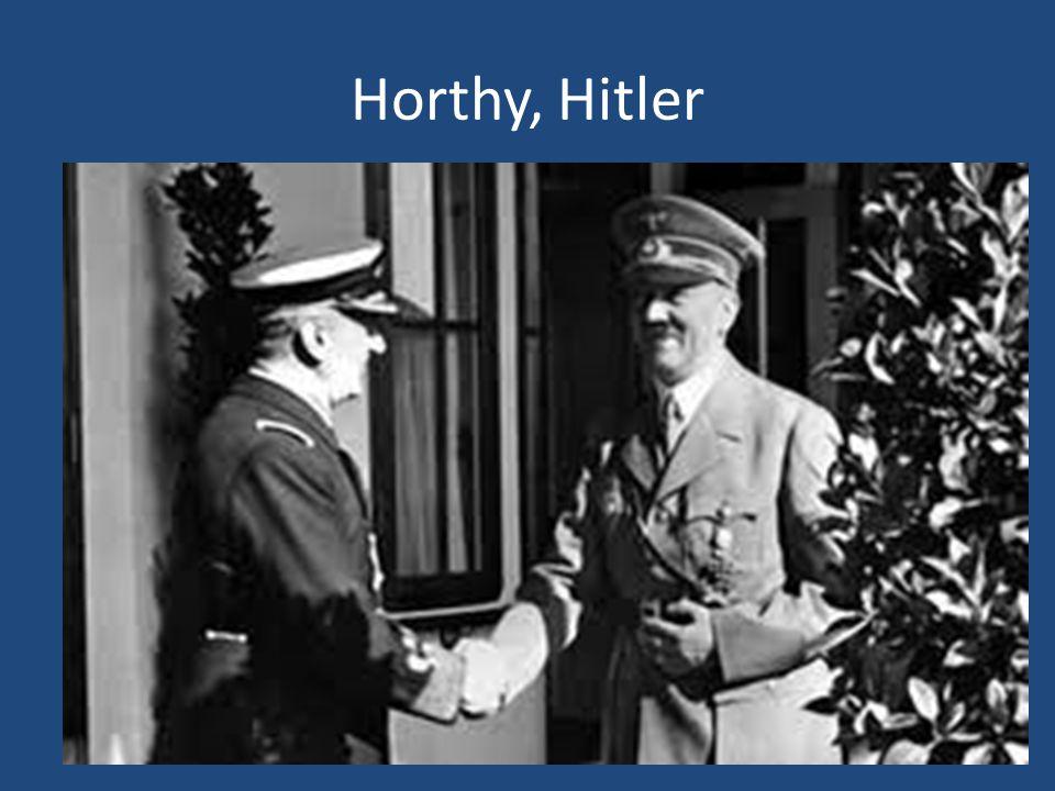 Horthy, Hitler