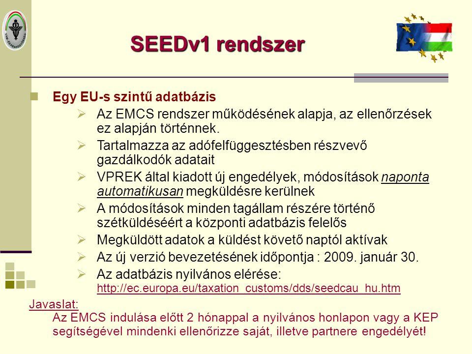 Az EMCS adatk ü ld é s folyamata 2009.06.04 Feladó Címzett Szállító 2.