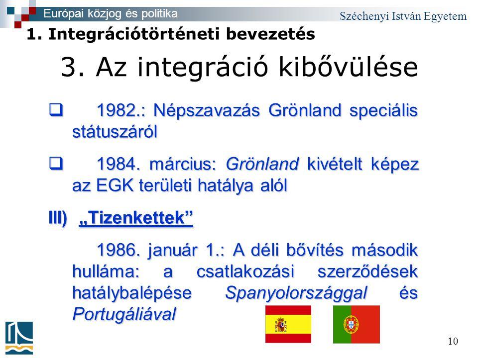 Széchenyi István Egyetem 10 3.