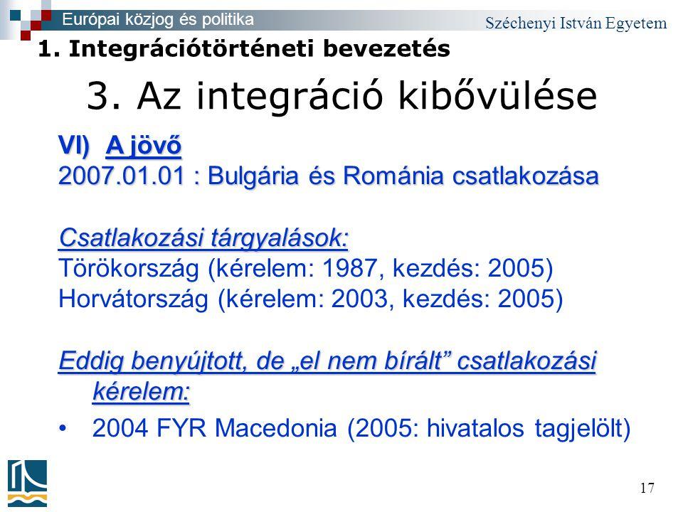 Széchenyi István Egyetem 17 3.