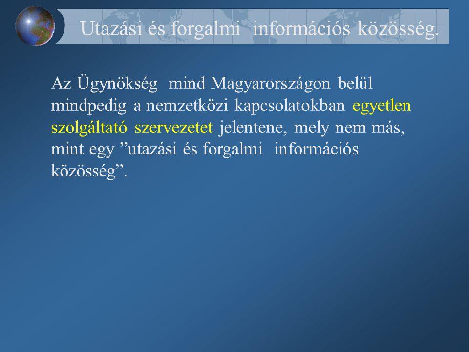 Utazási és forgalmi információs közösség.