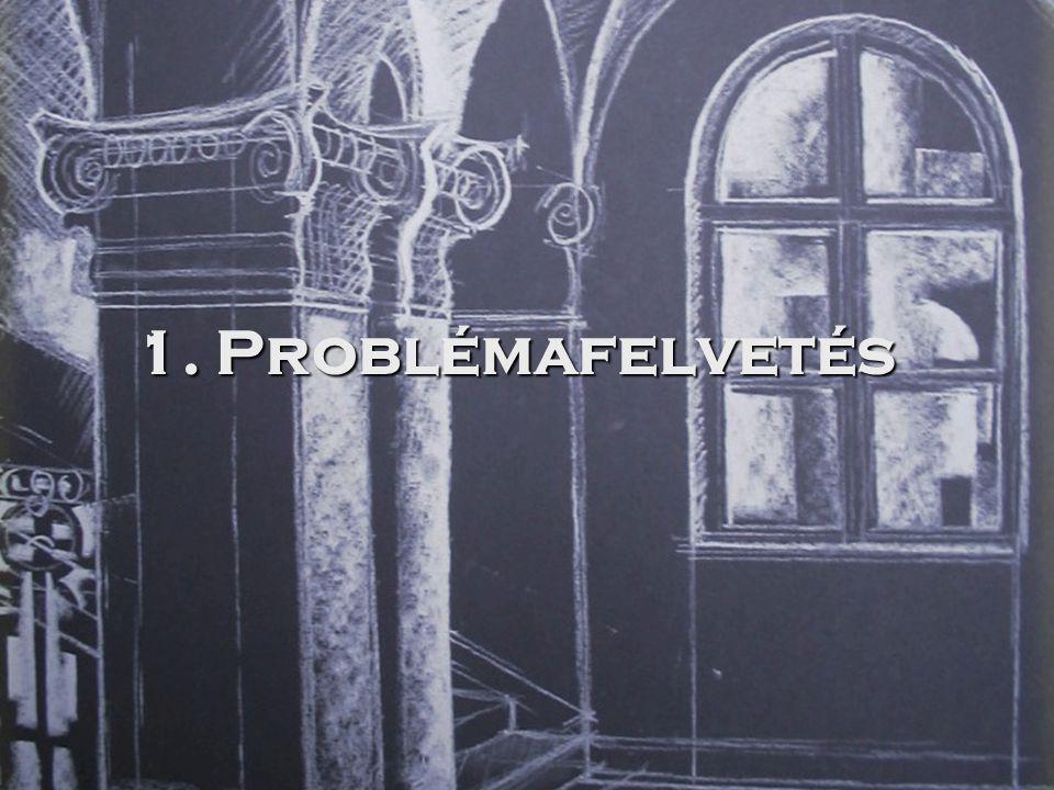 1. Problémafelvetés