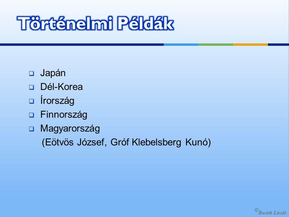  Japán  Dél-Korea  Írország  Finnország  Magyarország (Eötvös József, Gróf Klebelsberg Kunó) © Baráth László