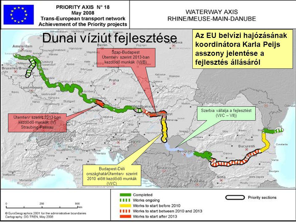 KvVM víziút fejlesztései Tisza 1.A felső-Tisza illetve a Bodrog víziút fejlesztése IV.