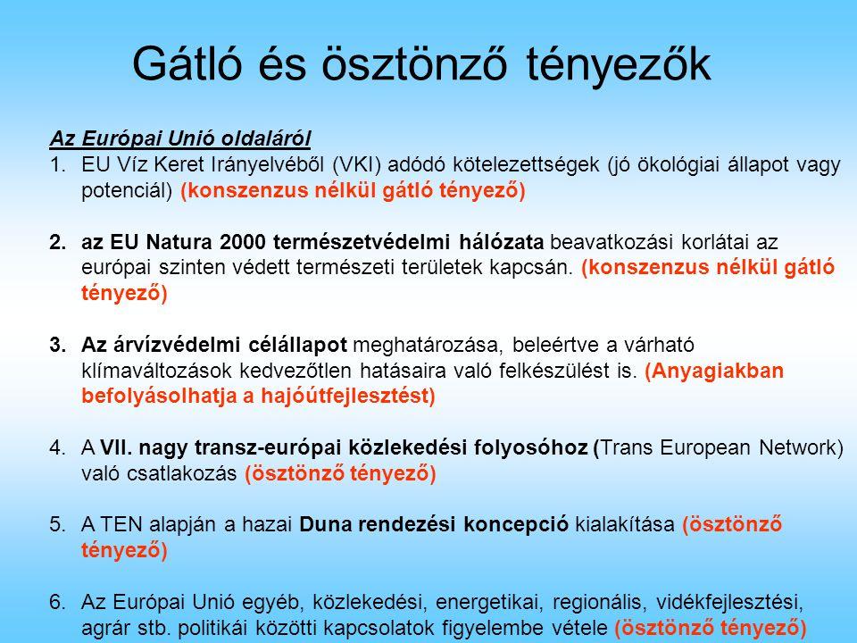 Magyarországon 1.A zöld mozgalmak ellenzik a folyó mindennemű szabályozását (pl.