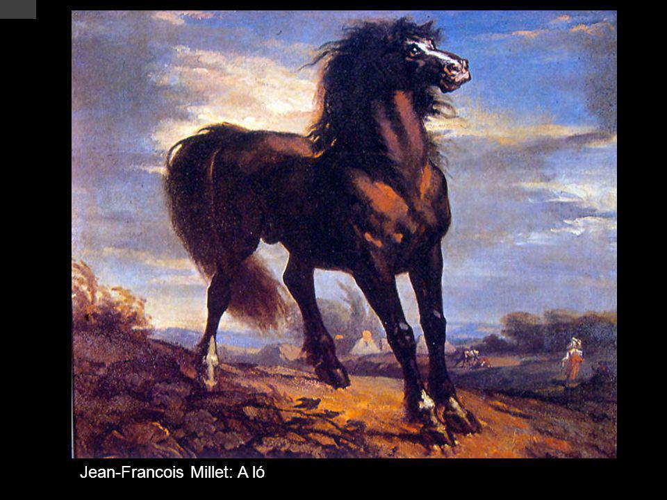 Jean-Francois Millet: A ló