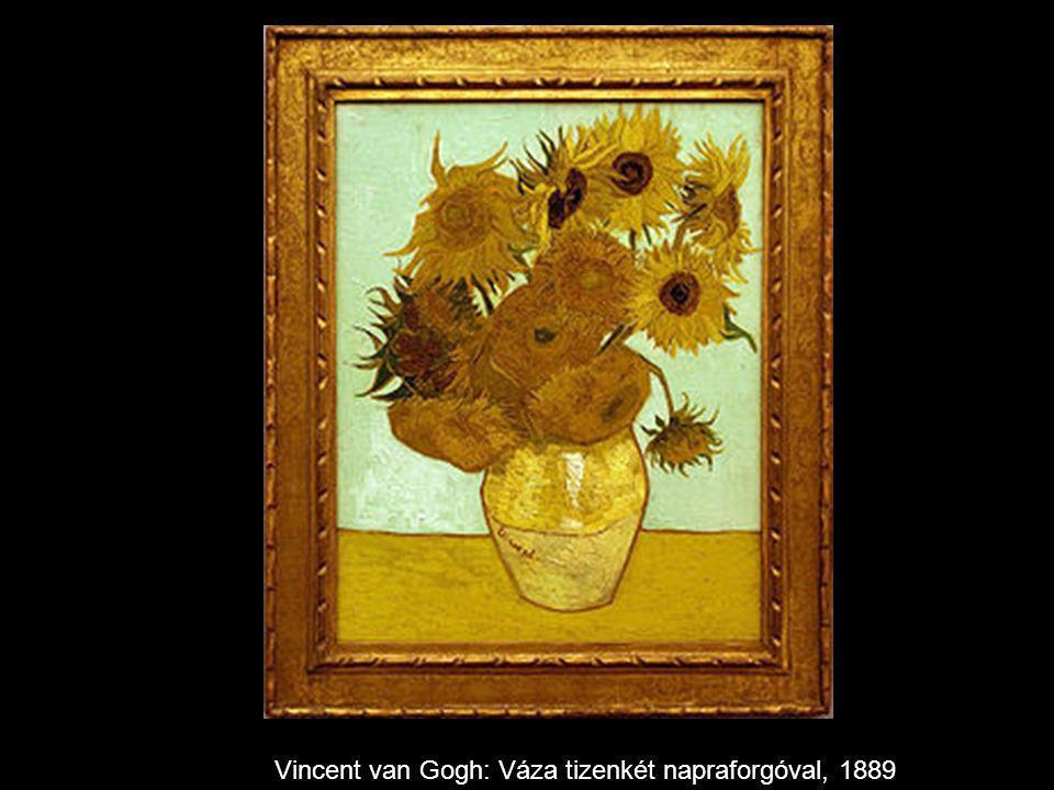 Vincent van Gogh: Váza tizenkét napraforgóval, 1889