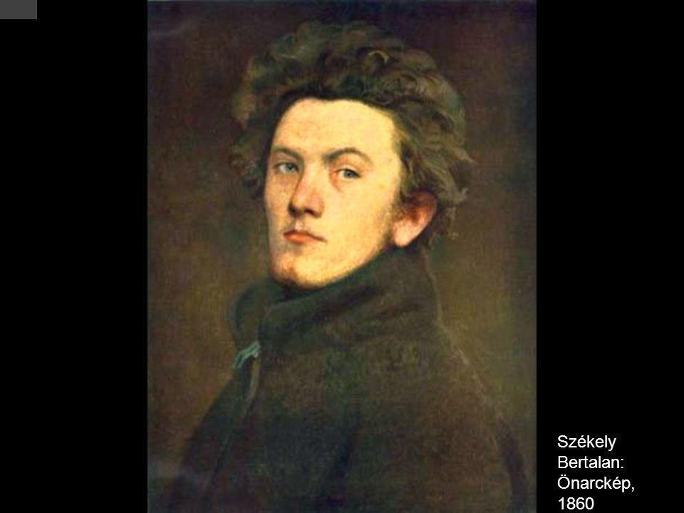 Székely Bertalan: Önarckép, 1860