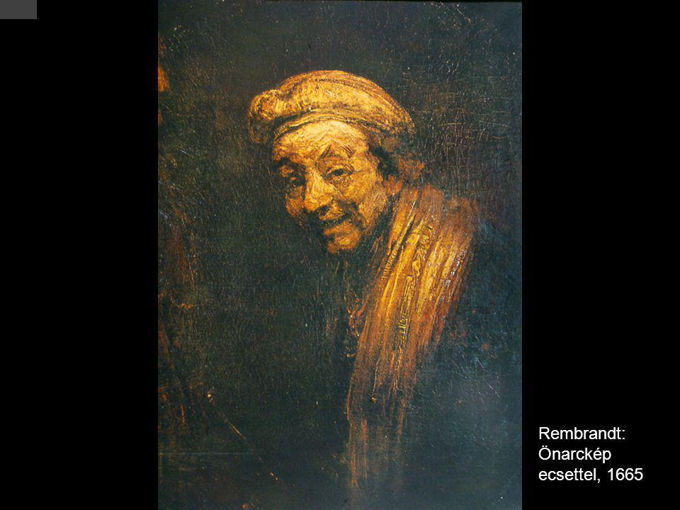 Rembrandt: Önarckép ecsettel, 1665