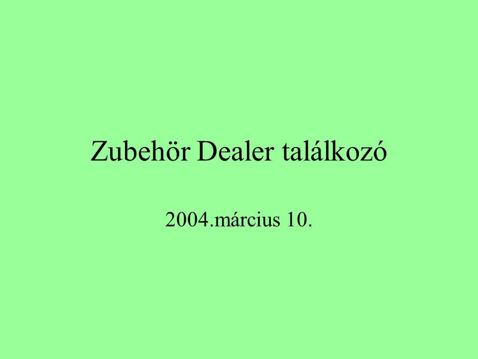 Zubehör Dealer találkozó 2004.március 10.