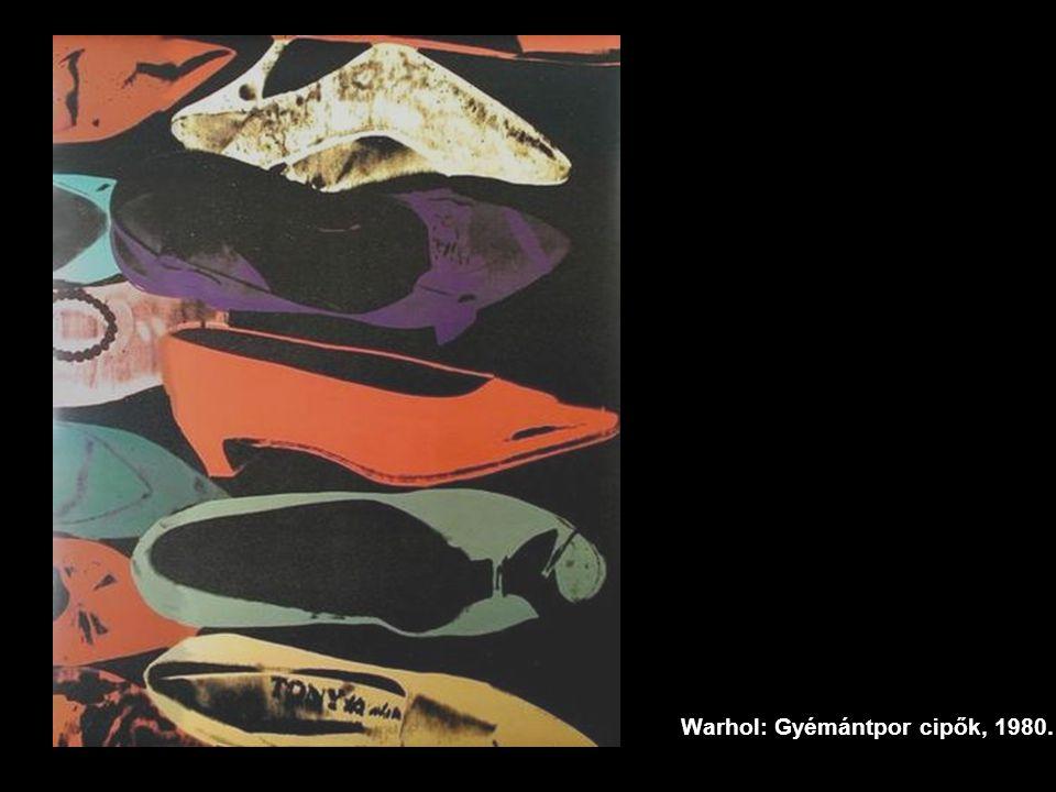 Warhol: Gyémántpor cipők, 1980.