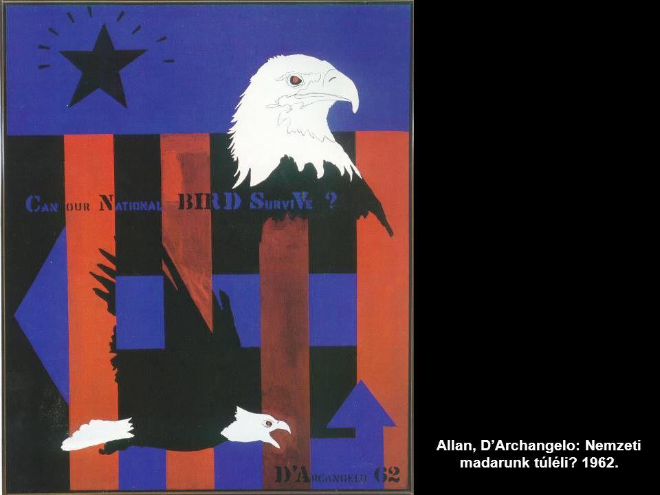 Allan, D'Archangelo: Nemzeti madarunk túléli? 1962.