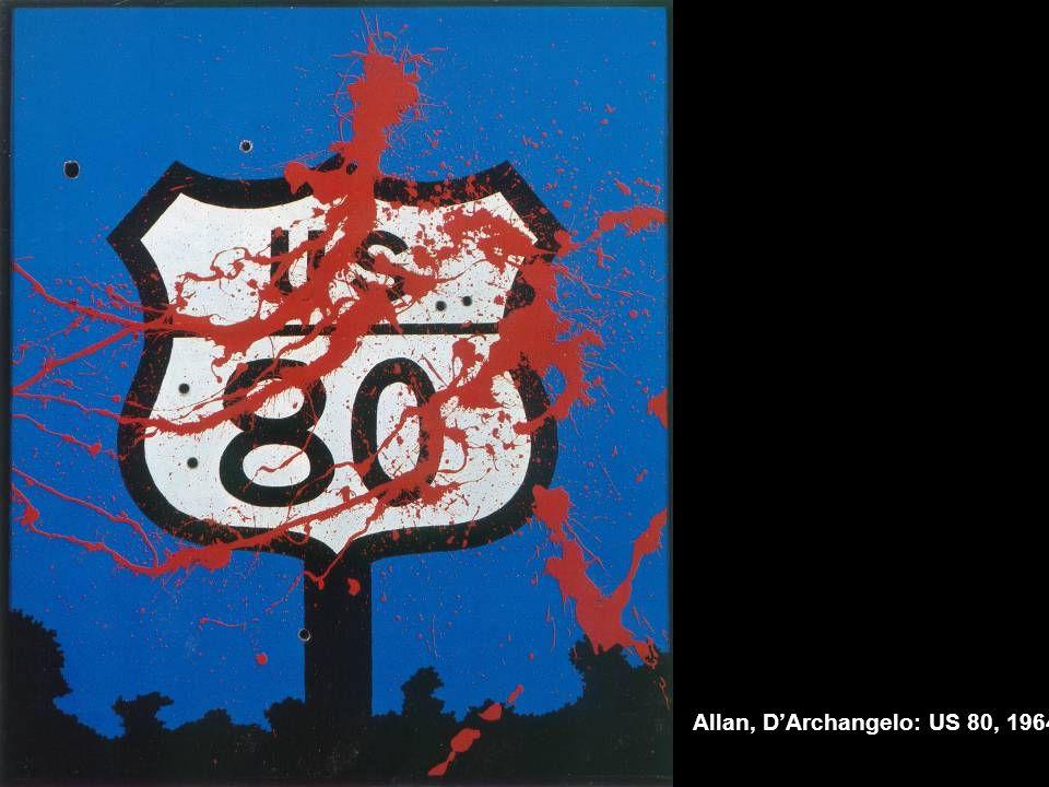 Allan, D'Archangelo: US 80, 1964.