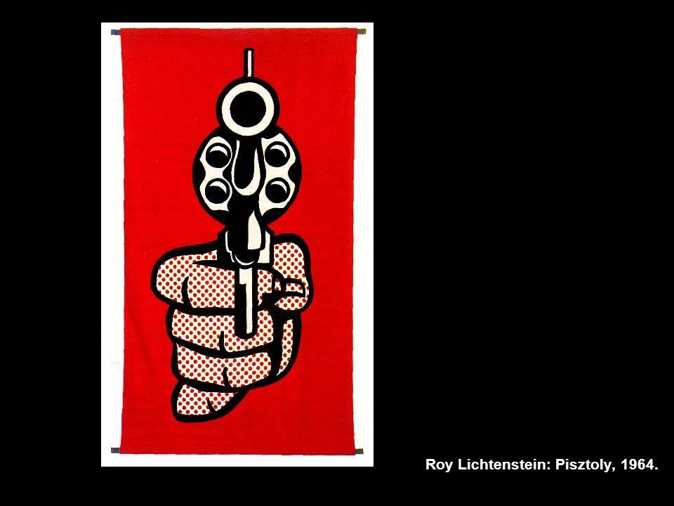 Roy Lichtenstein: Pisztoly, 1964.