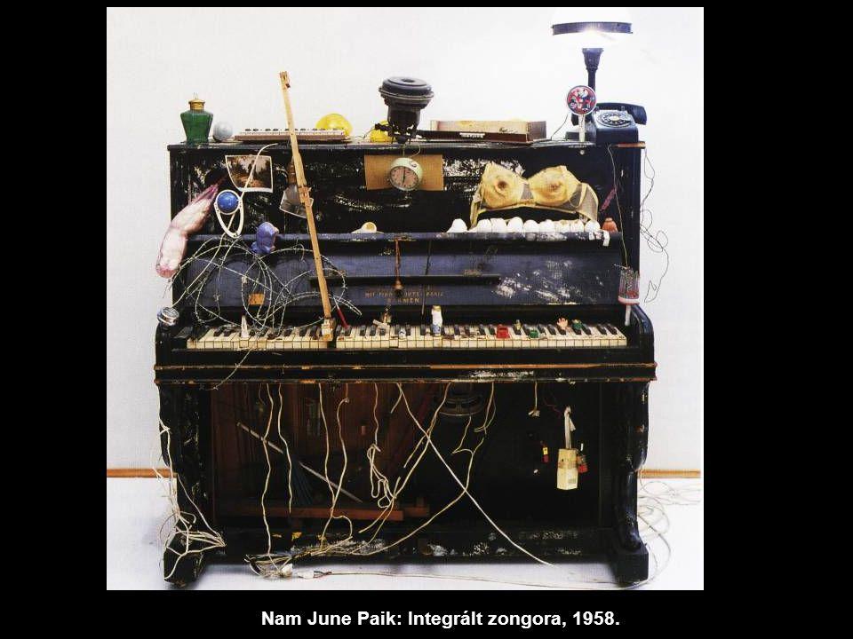 Nam June Paik: Integrált zongora, 1958.