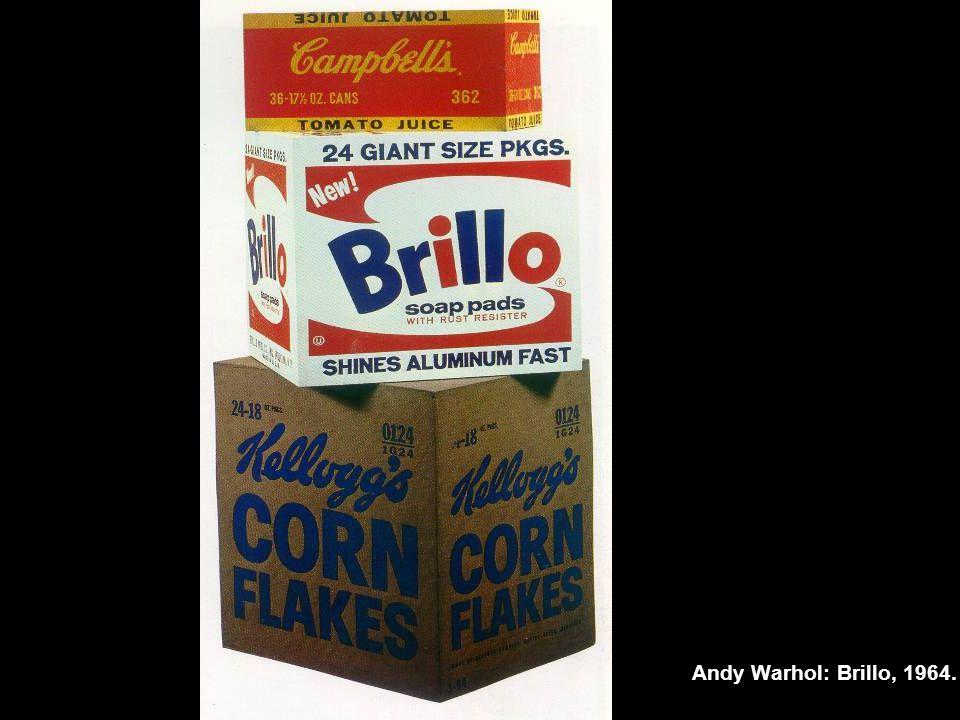 Andy Warhol: Brillo, 1964.