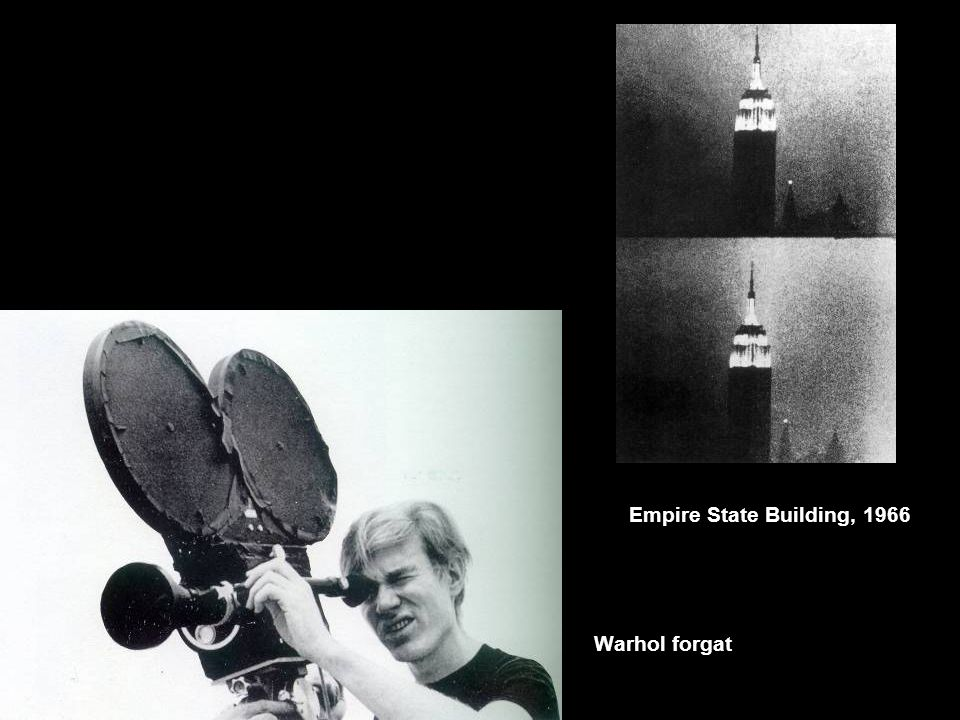 Warhol forgat Empire State Building, 1966