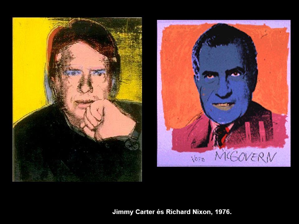 Jimmy Carter és Richard Nixon, 1976.