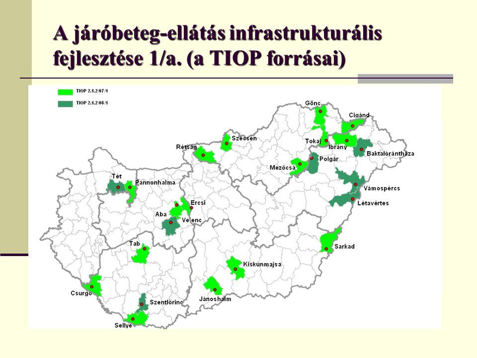 A járóbeteg-ellátás infrastrukturális fejlesztése 1/a.