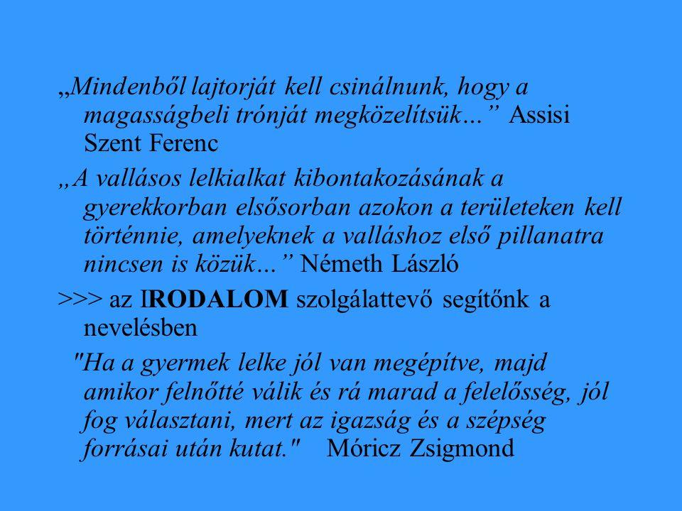"""A gyermekirodalom a nevelés szolgálatában - Sokszor alárendelt, egyoldalú szerep -Fordulatot hoz Benedek Elek (1859-1929) parlamenti felszólalása 1888-ban """"…valamint a házat is alulról kezdik építeni, azonképpen a magyar irodalom olvasóközönségének nevelését is alul, a gyermekeknél kell kezdeni… - Pósa Lajos, Gárdonyi Géza, Móricz Zsigmond, Benedek Marcell, később Bartók Béla és Kodály Zoltán"""