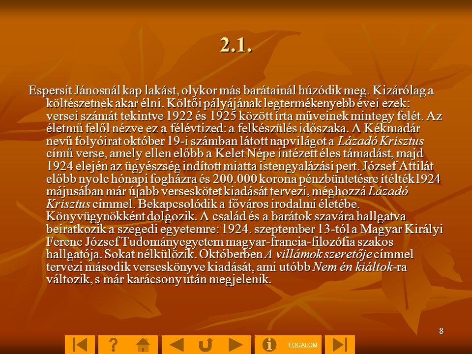FOGALOM 29 IV.3. Illusztrációjegyzék Képanyagok:  26. kép 26. kép 26. kép