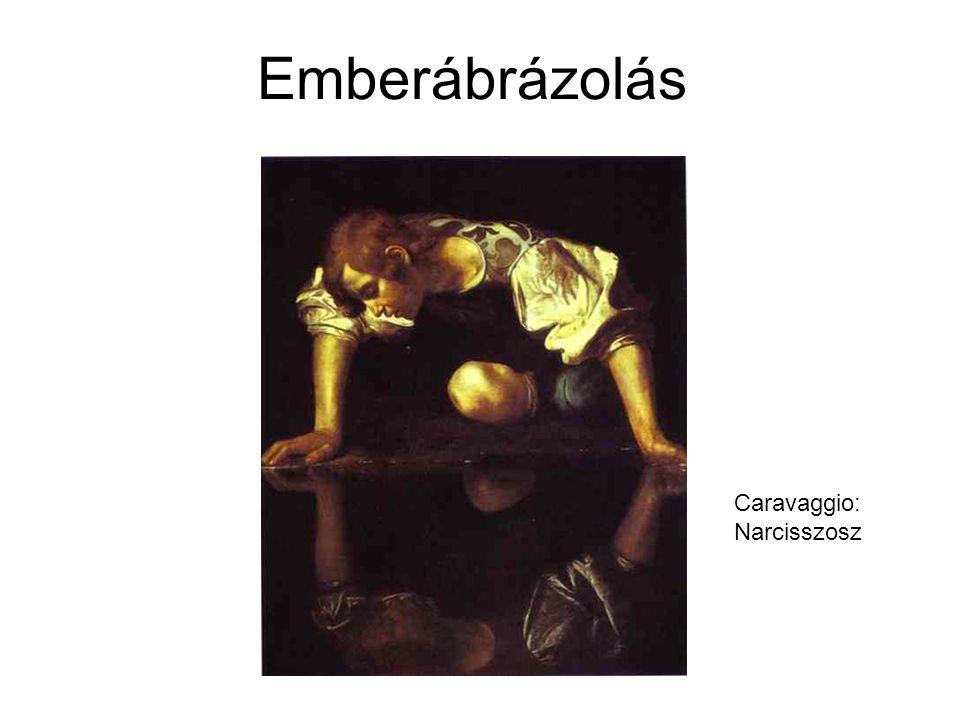 Emberábrázolás Caravaggio: Narcisszosz