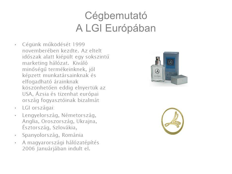 Cégbemutató A LGI Európában •Cégünk működését 1999 novemberében kezdte.