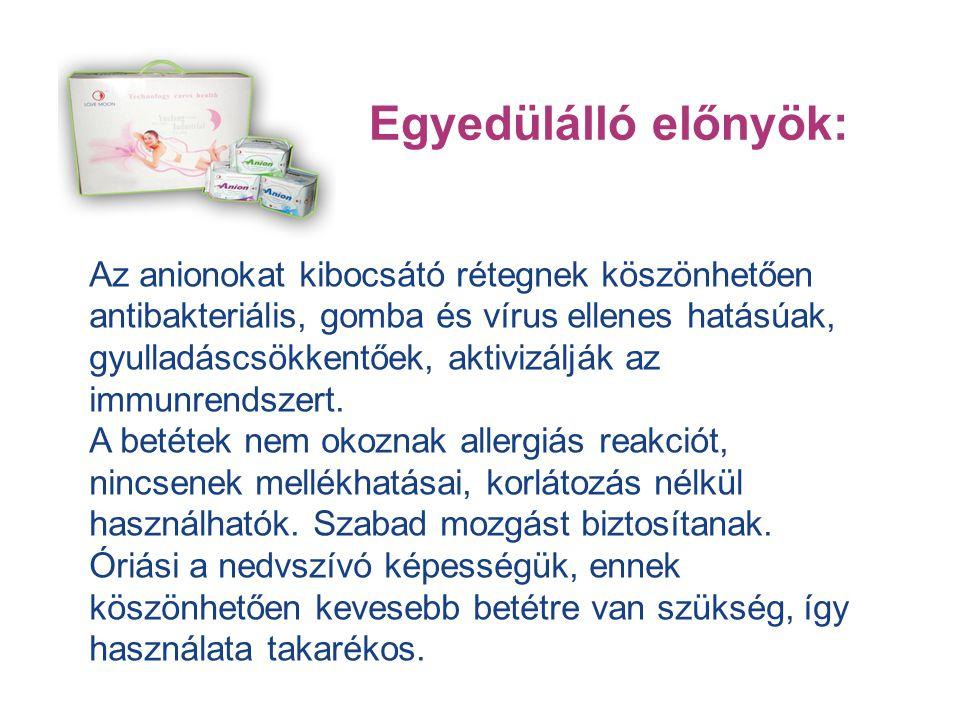 - Antibakteriális, antivirális, gyulladáscsökkentő és gombaölő hatásuk van - Erősítik az immunrendszert - Javítják a hormonháztartást - Javítják az anyagcserét - Semlegesítik a kellemetlen szagokat - Fenntartják a hüvely megfelelő PH értékét - Stabilizálják az egészséget - Megkötik az egészségre káros szabadgyököket Egyedülálló előnyök: