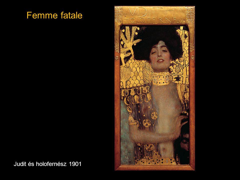 Femme fatale Judit és holofernész 1901