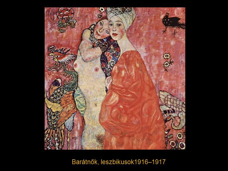 Barátnők, leszbikusok1916–1917
