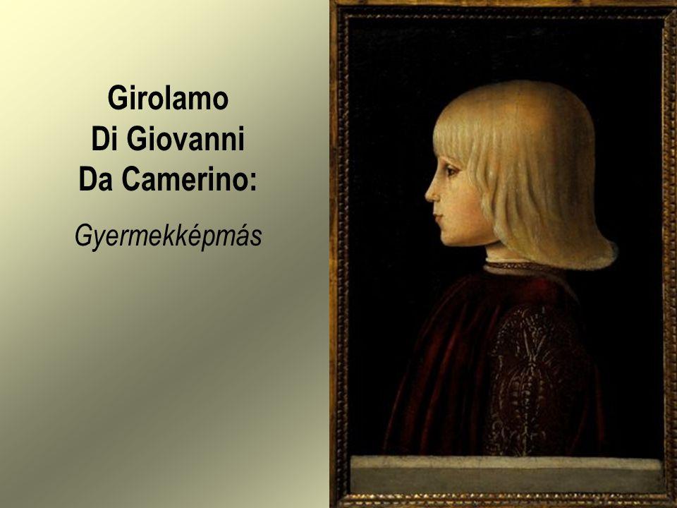 Girolamo Di Giovanni Da Camerino: Gyermekképmás