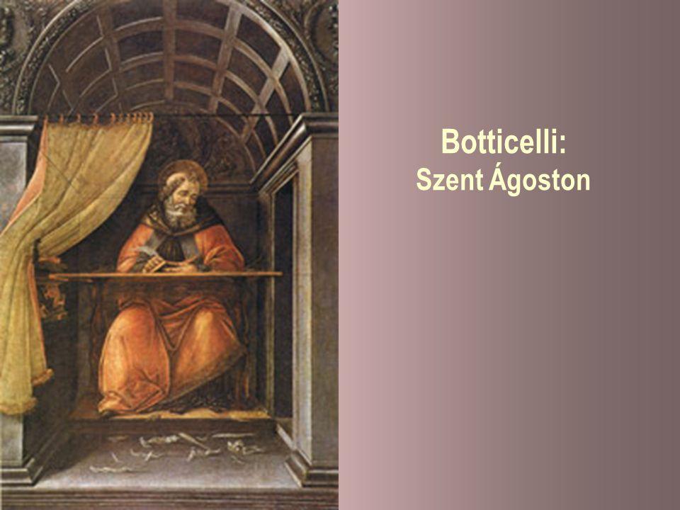 Botticelli: Szent Ágoston