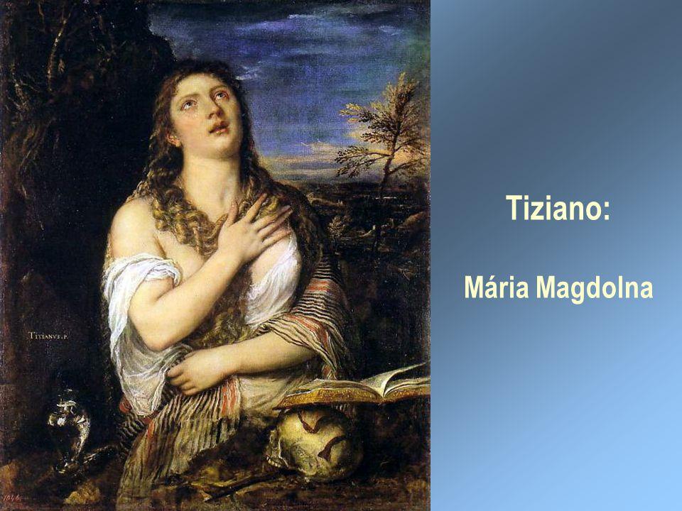 Tiziano: Mária Magdolna