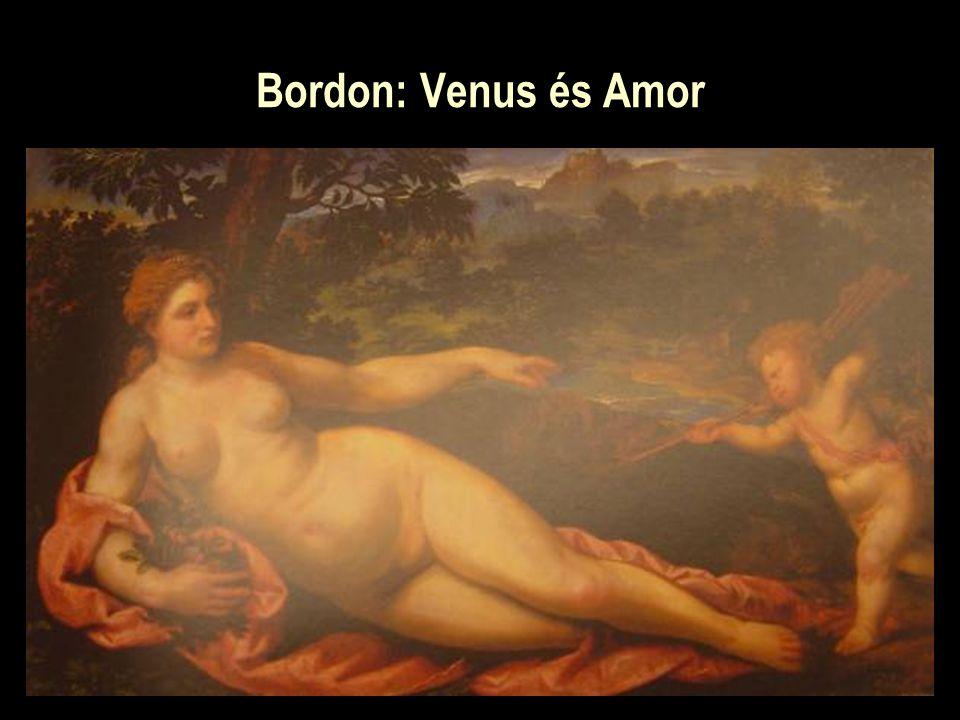 Bordon: Venus és Amor
