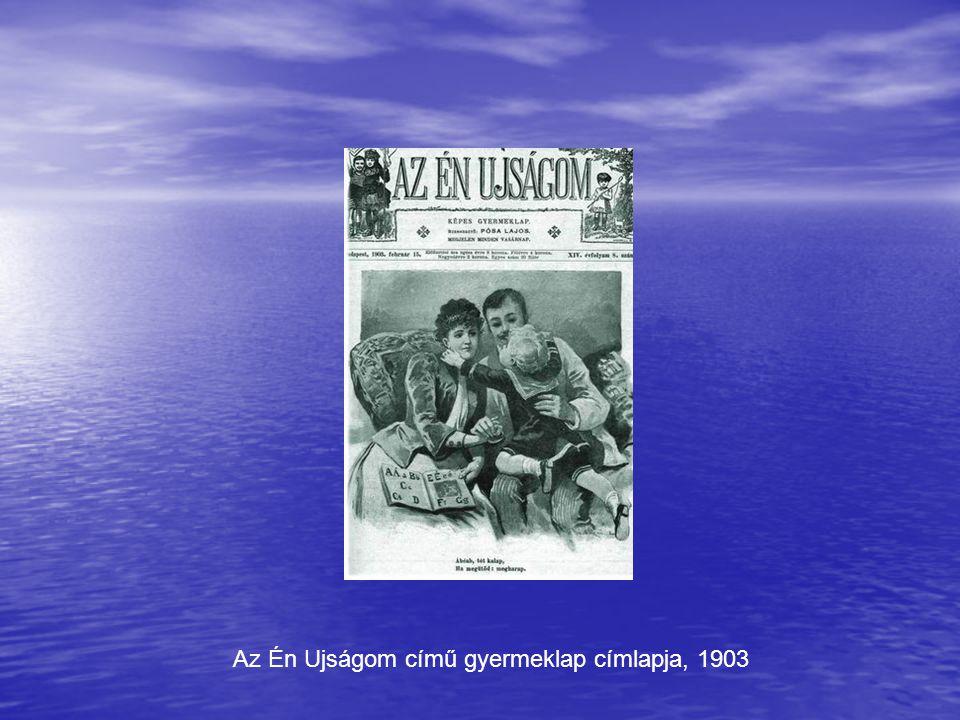 Az Én Ujságom című gyermeklap címlapja, 1903