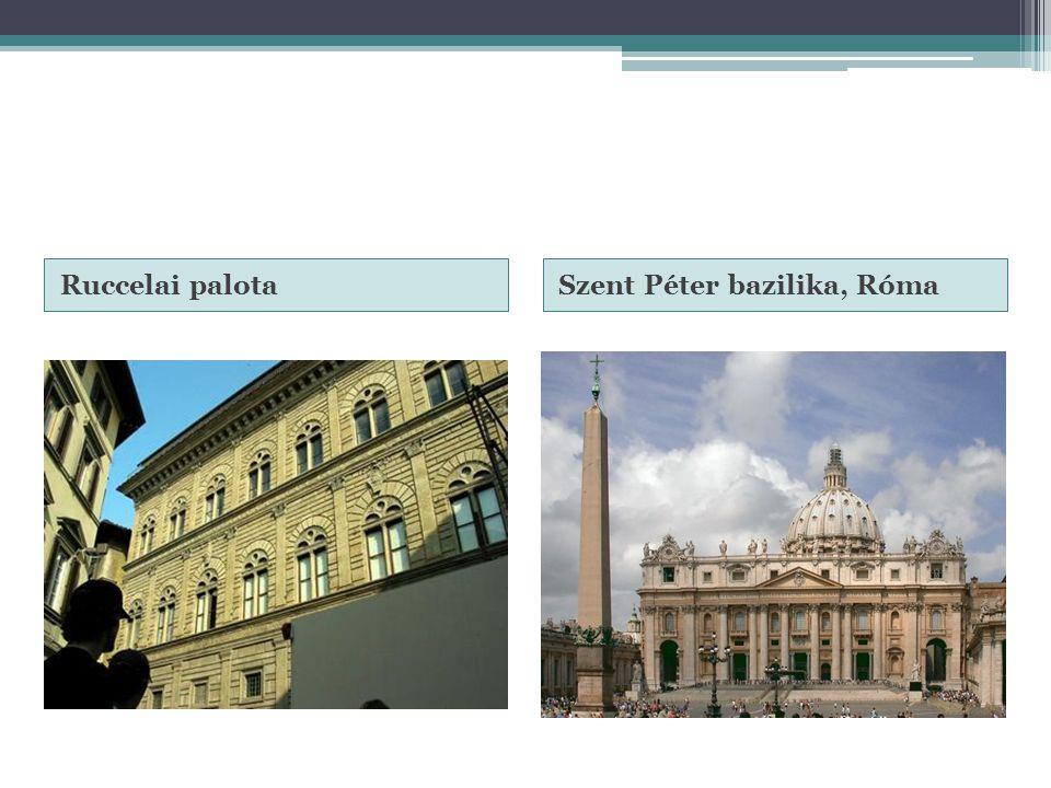 Ruccelai palotaSzent Péter bazilika, Róma