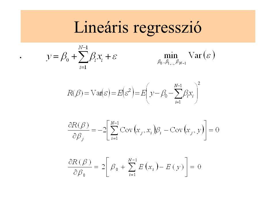 Lineáris regresszió.