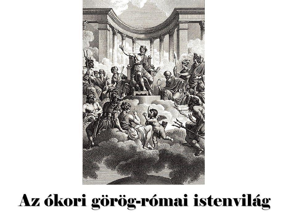 Az ókori görög-római istenvilág