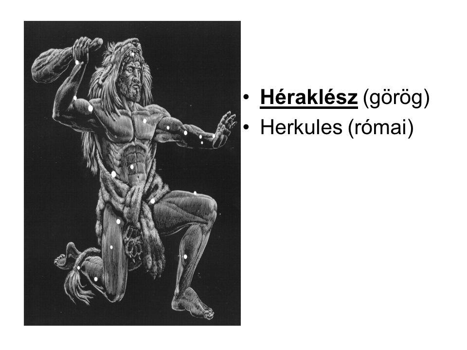 •Héraklész (görög) •Herkules (római)